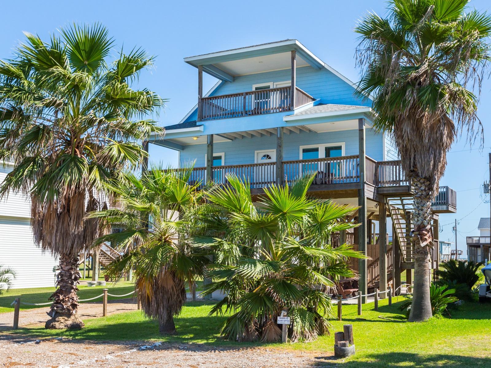Treasure Island Texas Beach House Rentals